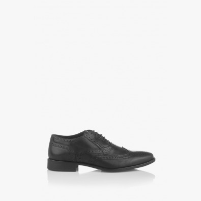 Черни мъжки официални обувки Брус