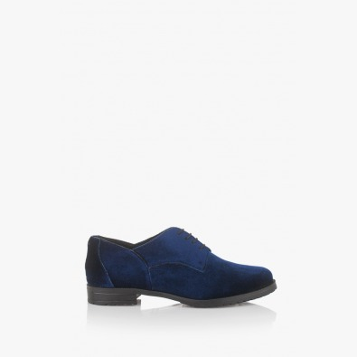 Сини дамски обувки Шантел
