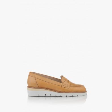 Дамски ежедневни обувки Колет цвят крема
