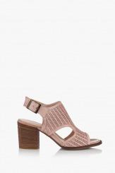 Дамски сандали естествеа кожа Ейприл