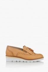 Дамски ежедневни обувки цвят крема Аглая