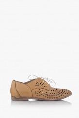 Дамски летни обувки в бежово Канди