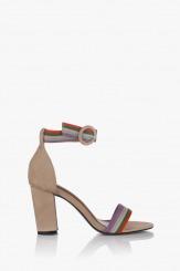 Дамски сандали в бежов цвят Габи