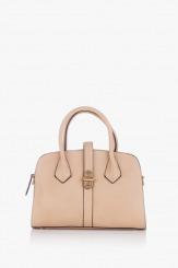 Бежова дамска чанта Джослин