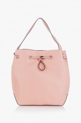 Дамска чанта Аврил цвят пудра