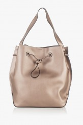Ежедневна дамска чанта в златисто Аврил