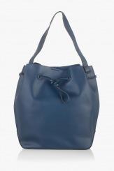 Дамска чанта в тъмни син цвят Аврил