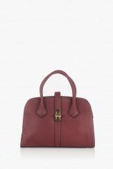 Дамска чанта в бордо Джослин