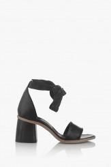 Черни дамски сандали Теса