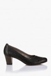 Черни дамски обувки Пеги