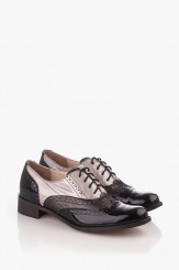 Ежедневни дамски обувки с връзки