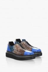 Спортни дамски обувки в синьо