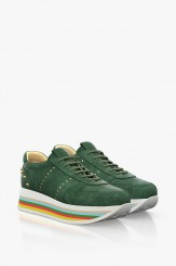 Велурени спортни дамски обувки