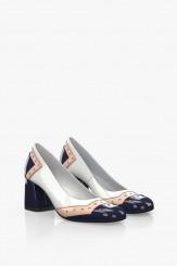 Дамски елегантни обувки на ток