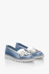 Ежедневни дамски обувки с ресни