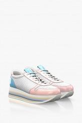Спортни дамски обувки на цветно ходило