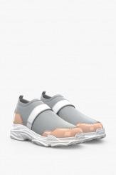 Спортни дамски обувки в сиво