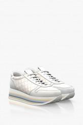 Кожени дамски спортни обувки