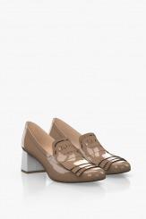 Елегантни дамски обувки с аксесоар