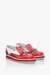 Кожени дамски ежедневни обувки