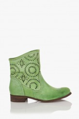 Зелени летни ботуши Ашли