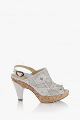 Дамски сандали Маура бял