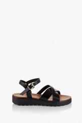 Дамски сандали Катерини в черно