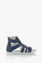 Сини дамски сандали Римини