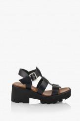 Дамски сандали Кендал в черно