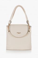 Бежова чанта Грейси