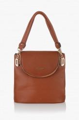 Дамска чанта Грейси карамел