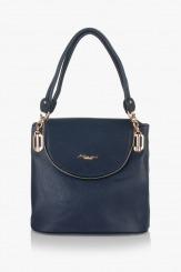 Дамска синя чанта Грейси