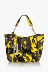 Дамска чанта Лола в жълто