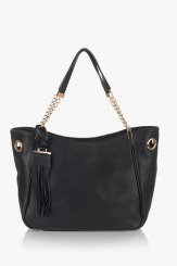 Дамска чанта Лола в черно