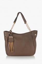 Дамска чанта Лола таупе