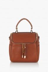 Дамска чанта Дани карамел