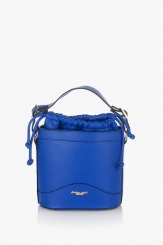 Синя дамска чанта Дорис