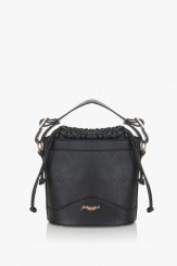 Черна дамска чанта Дорис