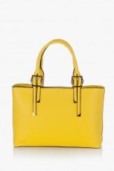 Дамска чанта Кейли в жълто