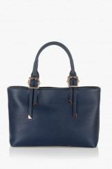 Тъмно синя дамска чанта Кейли