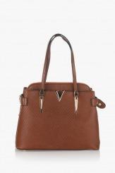 Дамска чанта Кори карамел