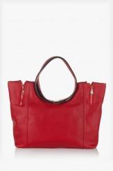 Дамска чанта Сийди в червено