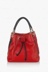 Дамска чанта Крис червена