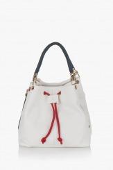 Дамска чанта Крис бяла