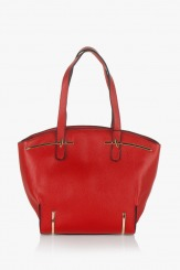 Червена дамска чанта Крис