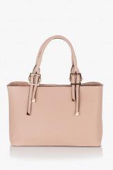 Дамска чанта Кейли пудра