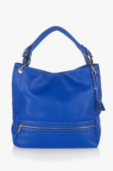 Синя дамска чанта Ким