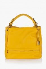Дамска чанта в жълто Ким