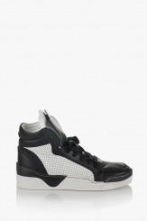 Дамски спортни обувки Мабел черно и бяло