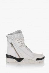Бели дамски спортни обувки Мабел